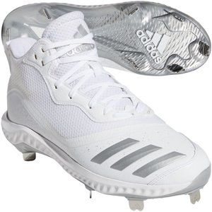 adidas Men's Icon V Bounce Mid Baseball Shoe